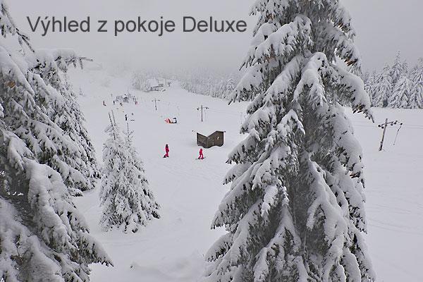 chata-hd.cz | výhled z pokoje deluxe